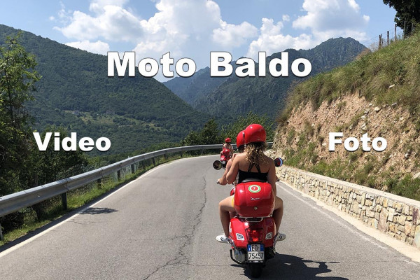 Monte Baldo. Vespa scooter tour around Monte Baldo.