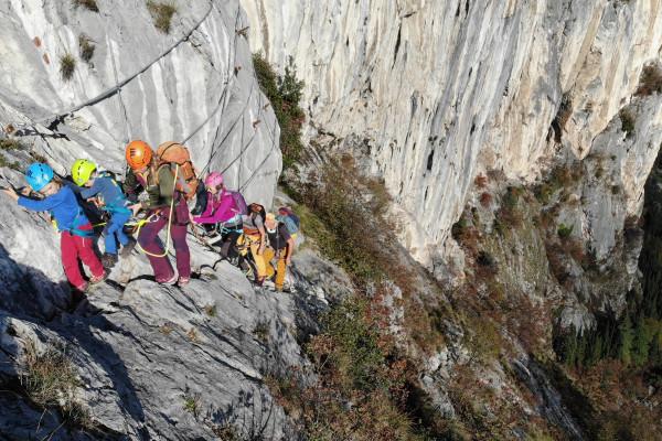 Ferrata Monte Colodri Arco di Trento