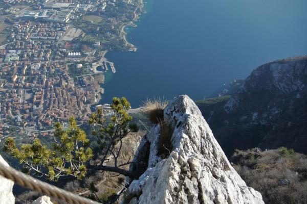 Ferrata dell'Amicizzia Cima SAT Lago di Garda Trentino #lolgarda
