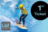 Hasewelle Surfing - Single Ticket for Children and Adults