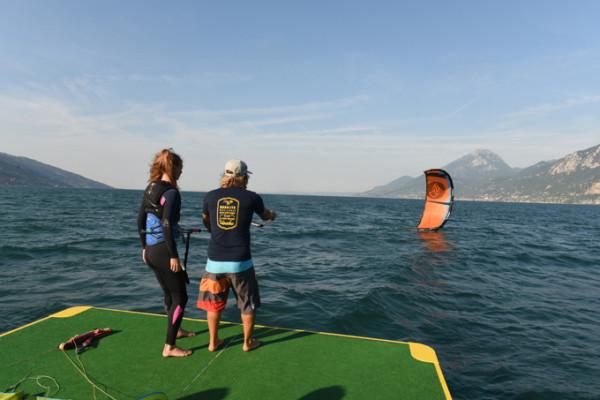 Kiteboarding Lake Garda