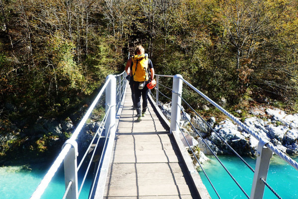 Canyoning with OUTdoor Slovenia