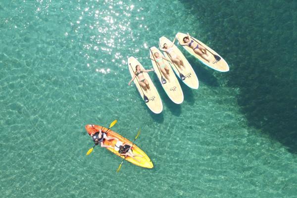 Canoe Kayak Stan-Up Paddle - Agay Baumette Beach