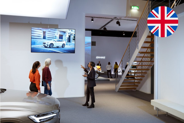 Guided tour at the Volvo Brand Experience Centre