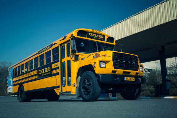 Cool Bus exterior view
