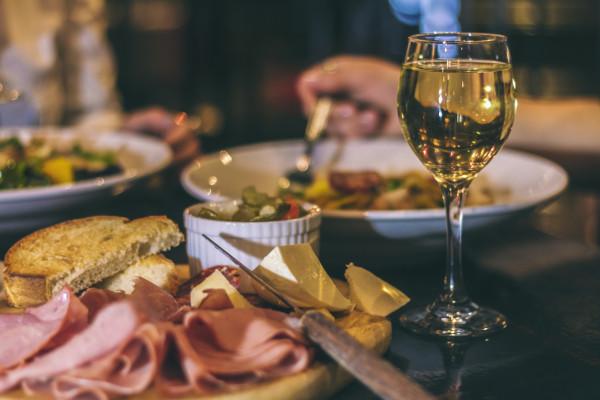 Italian menu Bella Vita Dinner Hopping