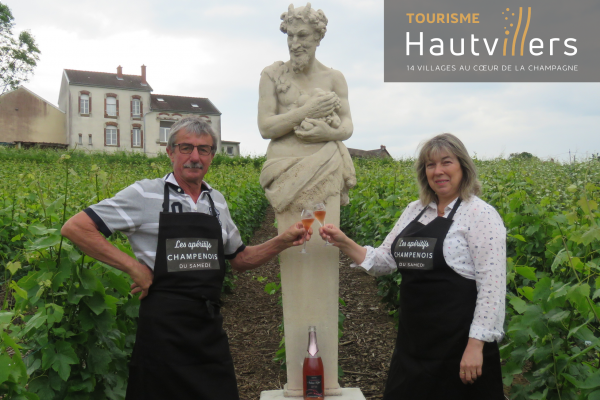 Sylvie and Thierry of Champagne Andrieux-Lefort
