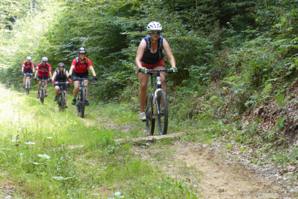 Guided MTB Tour Grunewald Luxembourg