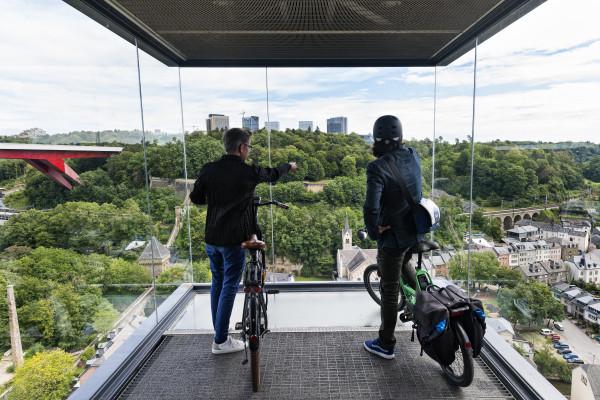 Panorama elevator Pfaffental Luxembourg