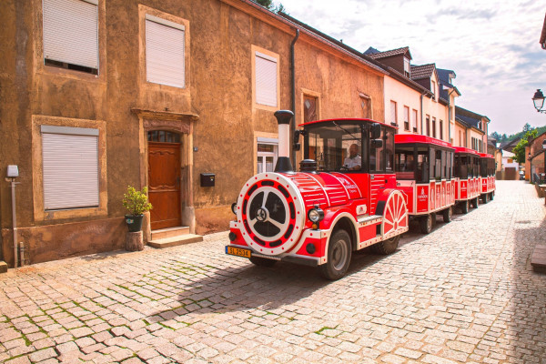 Vianden Express - touristic train in Vianden