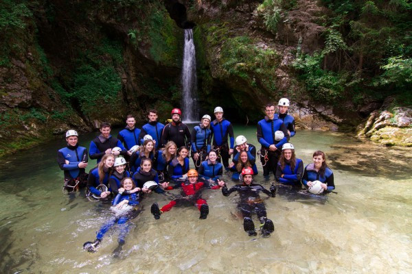 Canyoning with OUTdoor Slovenia 2