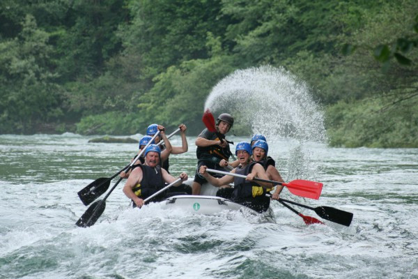 Rafting with OUTDoor Slovenia