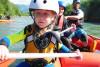 Familien Rafting Iller - Raftingtour Level 1 im Allgäu