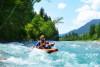 Kajak Rafting - Level 3 Rafting Tour im Allgäu