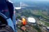 Schalke Veltins Arena Rundflug Tour im Gyrocopter Marl