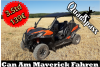 3 Sunden Can Am Maverick Buggy On & Offroad Fahren