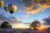 Ballonfahrt über Freiberg