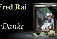 Fred Rai 1941 - 2015 um Western City Dasing
