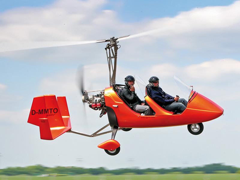 Gyrocopter-Rundflug in Freiburg im Breisgau