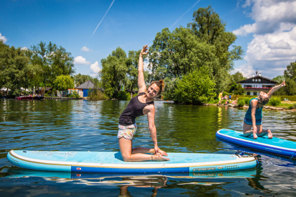 SUP Yoga mit Melly Andernach, Starnberg