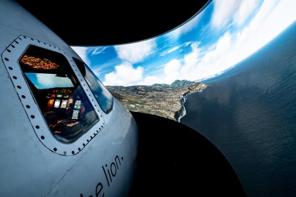 Flugsimulator A320