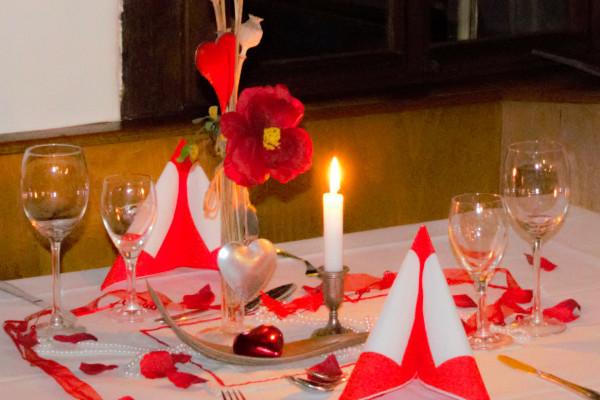 Romantik-Dinner