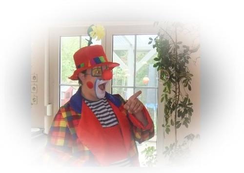 Clown in Nürnberg - Bühnenshow und Ballonmodellage