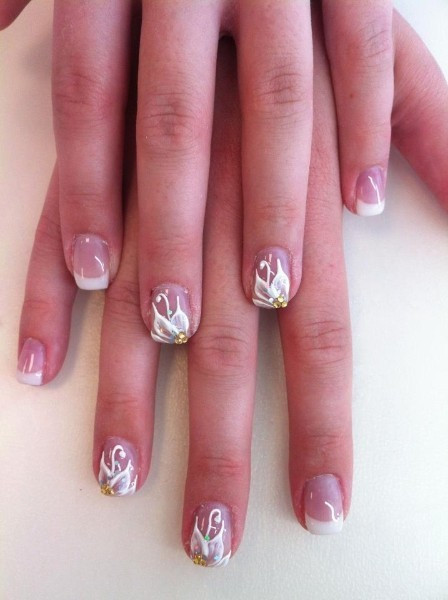 Nagelmodellage - French Nails in Oldenburg nahe Bremen