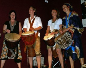 Afrikanisch Trommeln in München
