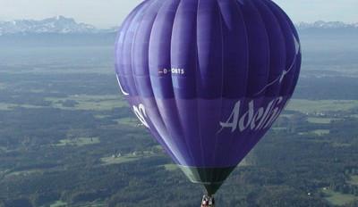 Heißluftballonfahrt in Tutzing - Einfach mal abheben