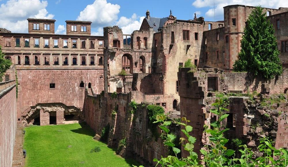 Stadt- und Schlossführung in Heidelberg, bis 25 Pers.
