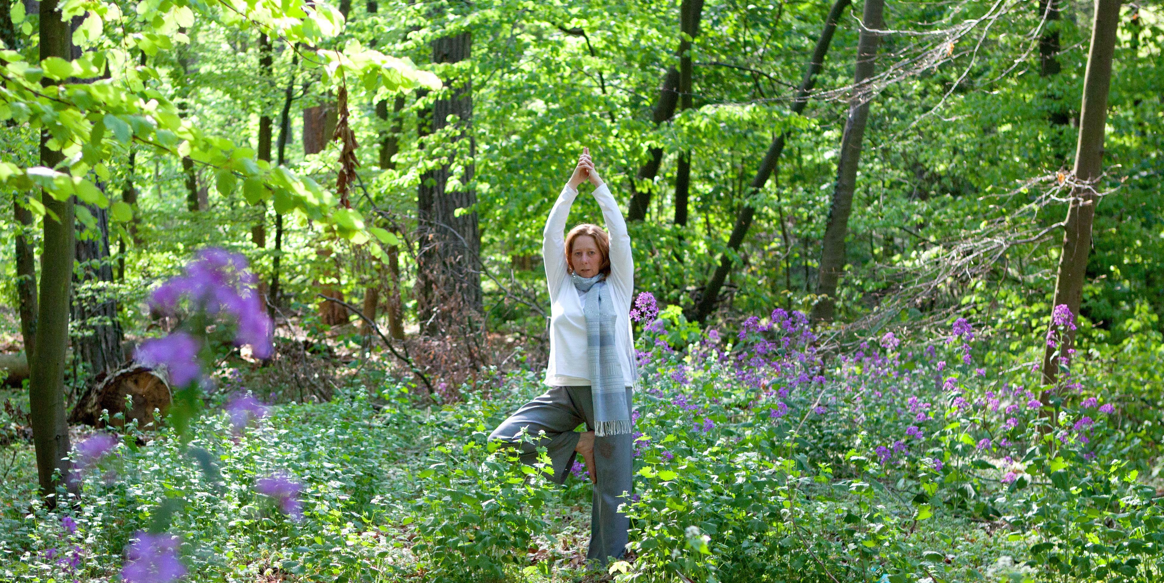 Yoga Mainz - Yoga im Freien