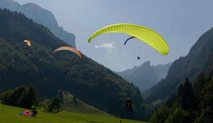 Paragliding-Schnupperkurs in Mayrhofen