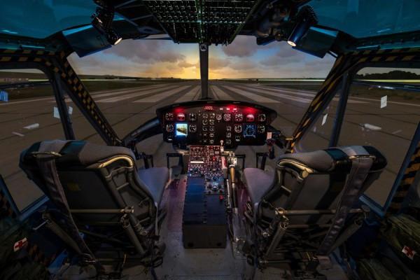 UH-1 Flugsimulator