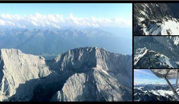 Rundflug über die Zugspitze ab Greding
