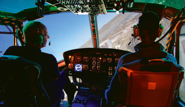 Simulator Flug Huey 60 Minuten Jochen Schweizer