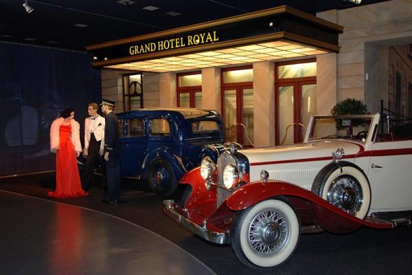 Automobile Geschichte erleben - Eintritt ins AHM