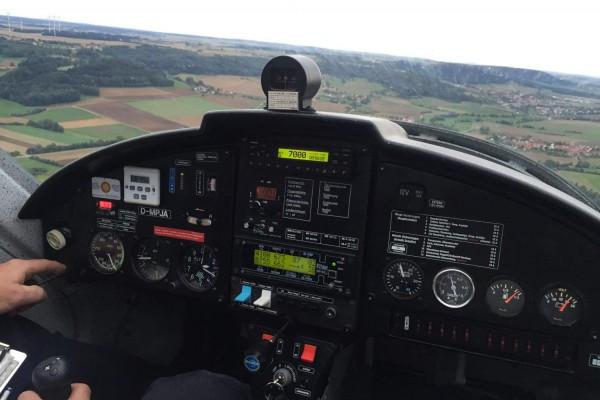 Ultraleicht-Flugzeug selbst fliegen in Greding