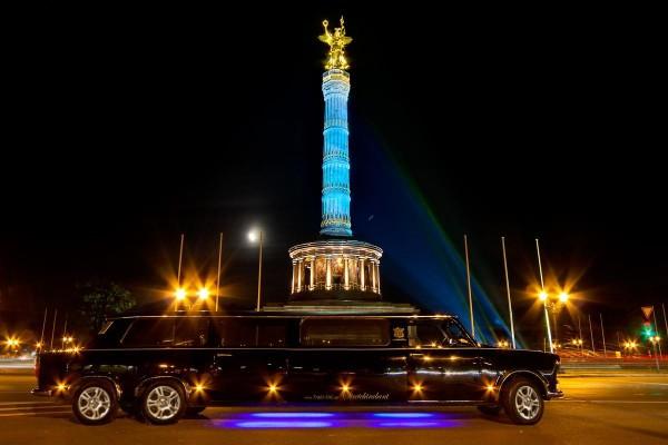 Große, private XXL Trabanten Stadtrundfahrt durch Berlin