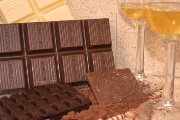 Whisky- und Schokoladentasting