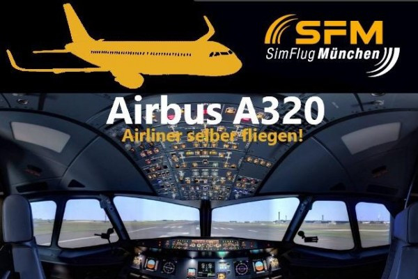 Flug Airbus -  A320  90 Minuten