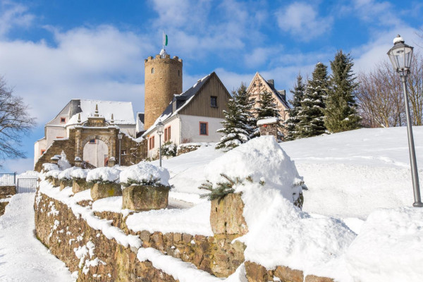 Burg Scharfenstein - ein Erlebnis für die ganze Familie
