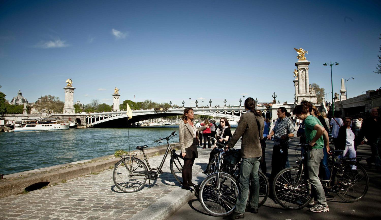 Stadtrundfahrt mit dem Fahrrad