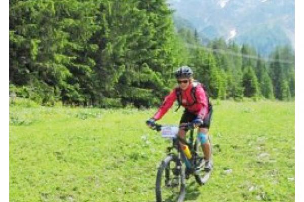 Beim Radfahren