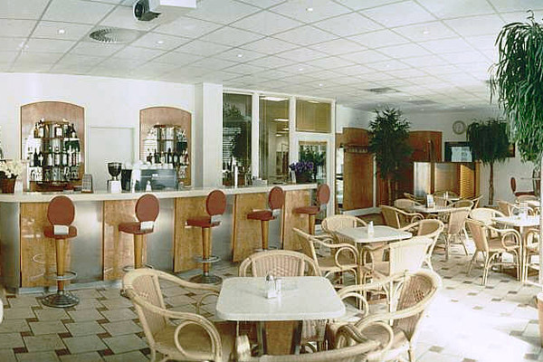 Cafe im Fitness-centre KINGS GYM