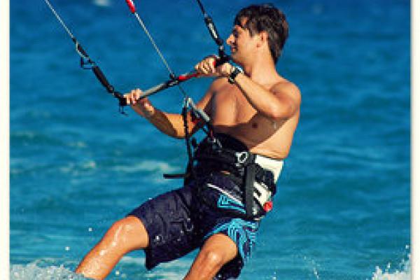 Kitesurf-Guide auf der Insel Fehmarn