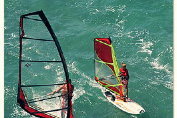 Windsurfen bei Gießen