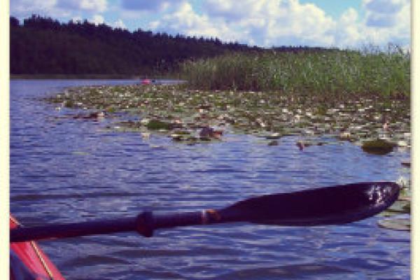 Kanutour Mecklenburger Seenplatte