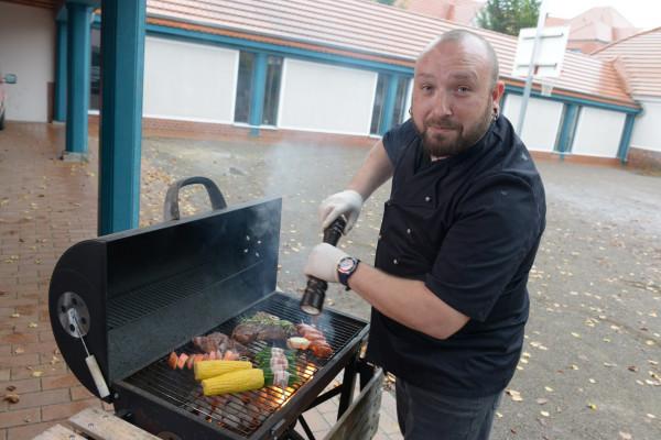 VIP-Grillseminar mit René Burisch und Chefbetreuung
