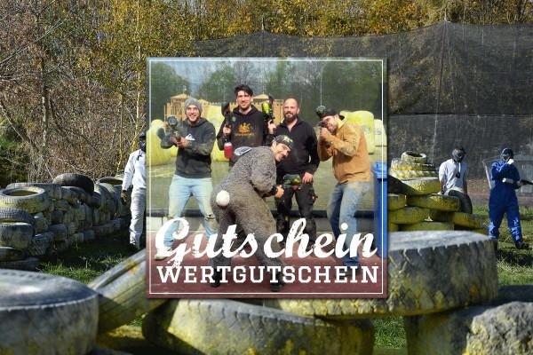 Der Paintball Gutschein für einen Tag bei Paintball Günzburg ist genau das richtige Geschenk!
